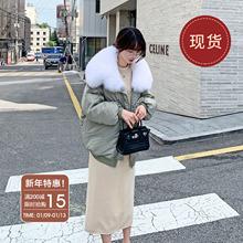 法儿家ba国东大门2yp年新式冬季女装棉袄设计感面包棉衣羽绒棉服