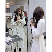 气质流ba秋季单排扣oi松风衣女2020新式大衣中长式薄式外套