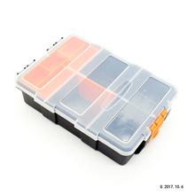 五金塑ba家用收纳箱ho多功能维修工具盒便携车载收纳盒
