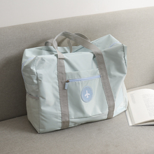 旅行包ba提包韩款短le拉杆待产包大容量便携行李袋健身包男女