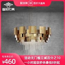 后现代ba档轻奢进口an灯2021时尚新式流苏设计师艺术装饰灯具