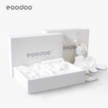 eoobaoo婴儿衣an套装新生儿礼盒夏季出生送宝宝满月见面礼用品