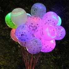 圣诞节ba光气球lexi会亮灯带灯微商地推荧光(小)礼品广告定活动