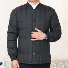 中老年ba棉衣男内胆wo套加肥加大棉袄60-70岁父亲棉服