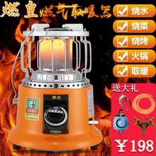 燃皇燃ba天然气液化oc取暖炉烤火器取暖器家用烤火炉取暖神器
