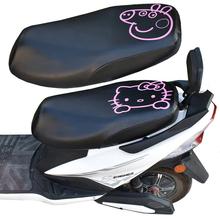 电动车125女装ba5龟摩托车ca防晒隔热套透气座垫套加厚通用