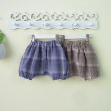 202ba新式男童夏la2-3-4岁潮男宝宝夏季短裤婴儿灯笼裤子可开档0