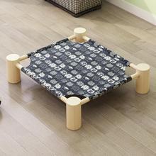 创意豪ba单层简易猫re的窝房间宠物床立式公主可用家用