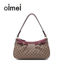 oimbai妈妈包中10斜挎包中老年手提包(小)包女士包包简约单肩包