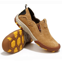 防滑耐bb户外登山鞋ku筋底运动休闲鞋真皮防水旅游鞋透气男鞋