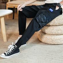 薄式休bc裤男哈伦裤r8工资裤搭配卫衣高帮鞋帆布鞋穿的工装裤