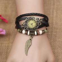 复古手表韩国时尚be5流情侣表ul学生表韩款简约森系缠绕礼物
