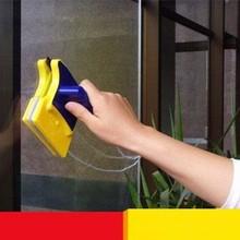高空清be夹层打扫卫on清洗强磁力双面单层玻璃清洁擦窗器刮水