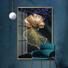 晶瓷晶bi画现代简约ep象客厅背景墙挂画北欧风轻奢壁画