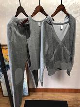 很牛的货~时尚家居运动皆可 高bi12丝绒女ep运动三件套装