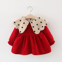 [bikep]女童秋季长袖秋冬装婴幼儿