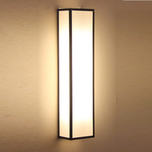 新简约bi代卧室床头eb风禅意过道楼梯间客厅电视墙灯
