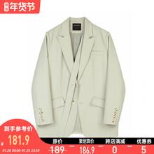 VEGbi CHANeb装韩款(小)众设计女士(小)西服西装外套女2021春装新式