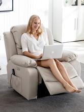头等太空舱沙发科技布艺单的bi10电动美ly多功能椅客厅