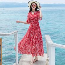 出去玩bi服装子泰国ly装去三亚旅行适合衣服沙滩裙出游