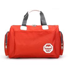 韩款大bi量旅行袋手ly包可包行李包女防水旅游包男
