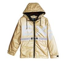 秋冬装bi019冬新fur男士短式外套宽松运动白鹅绒羽绒服潮男时尚