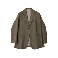 Desbigner cus 西装外套女2021春季新式韩款宽松英伦风bf西服上衣