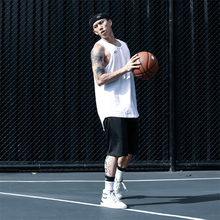 NICbiID NIel动背心 宽松训练篮球服 透气速干吸汗坎肩无袖上衣