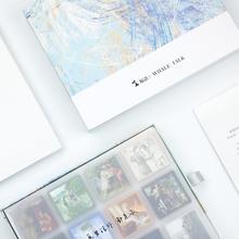 鲸语油画巧克力bi4盒装高档sy节情话礼物送男友女生创意零食