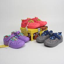 特价包邮14.99美金出口bj10女童夏cc沙滩鞋洞洞鞋捡漏牛货