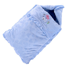 秋冬季bj厚防踢被婴lx袋纯棉宝宝新生儿抱被睡袋两用