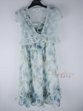 pinbj marynm丽/粉红玛�P 绣花钉珠蕾丝连衣裙 两件套 标齐