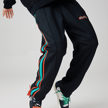 whybllay 裤ck秋2021新式宽松运动裤潮流休闲裤夏季工装直筒裤