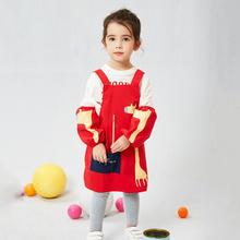 防水画bl衣宝宝吃饭ck园(小)孩美术罩衣家用厨房反穿衣