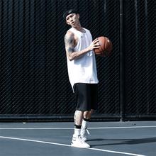 NICblID NIen动背心 宽松训练篮球服 透气速干吸汗坎肩无袖上衣