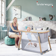 美国Kblnderwenn便携式折叠可移动 多功能新生儿睡床游戏床