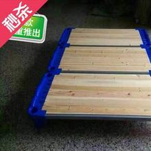 特价幼blo园e床幼os床叠叠床塑料床托管午休午睡床幼儿园专用