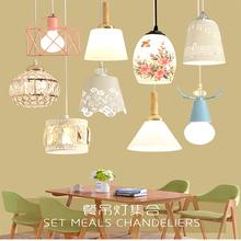 现代简bm饭厅灯吊灯sb吊灯时尚创意餐厅灯过道水晶吧台北欧灯