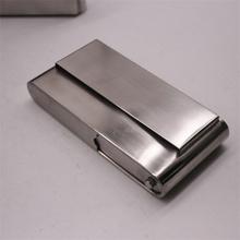 白钢手bm加厚老板烟sb锈钢保湿装烟纸大容量手卷防压旱烟沫盒