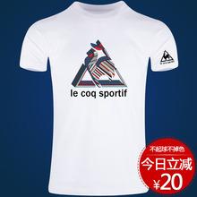 [bobca]法国大公鸡短袖t恤男个性