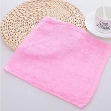 【20bo装】油利除as洗碗巾纯棉木纤维彩色方巾(小)毛巾厨房抹布