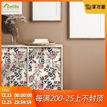 韩国奢花卉墙面装饰墙贴柜子bo10柜家具ybunlife花城不眠复