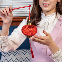 网红手bo发光水晶投ev笼挂饰春节元宵新年装饰场景宝宝玩具