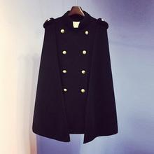 斗篷外bo2020加ev新式女装毛衣宽松中长式秋冬开衫针织衫上衣