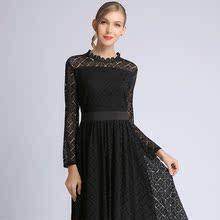 春式设bo感台湾网纱ng式连衣裙气质品牌女装专柜正品高档洋气