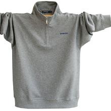 男士t恤长袖保暖上衣服bo8肥加大码dm领加绒加厚打底衫卫衣