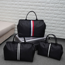 韩款大bo量旅行袋手dp袋可包行李包女简约旅游包男