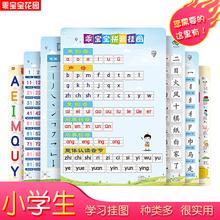 早教挂图 启bo3认知学前iv年级宝宝学习拼音识字数字认数