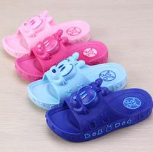 巴布豆bo宝男女童凉ko1-6岁5(小)孩婴幼儿凉拖鞋宝宝防滑凉拖鞋