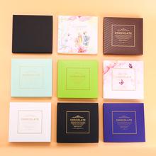 日本生巧克力包bo4盒高档生mi工diy生巧包装盒欧式礼盒包装